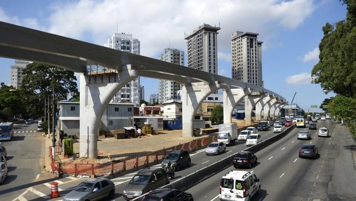 """Hochbahn """"Monotrilho"""" Sao Paulo"""