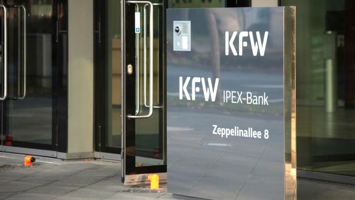 Eingangsbereich der KfW IPEX-Bank