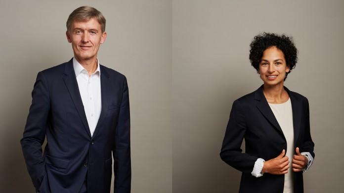 Collage von Herrn Dr. Carsten Wiebers und Frau Jerina Mariathasan