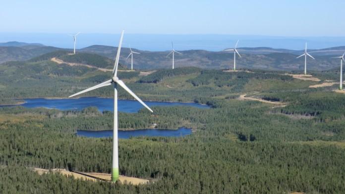 Windpark Kanada, Enercon