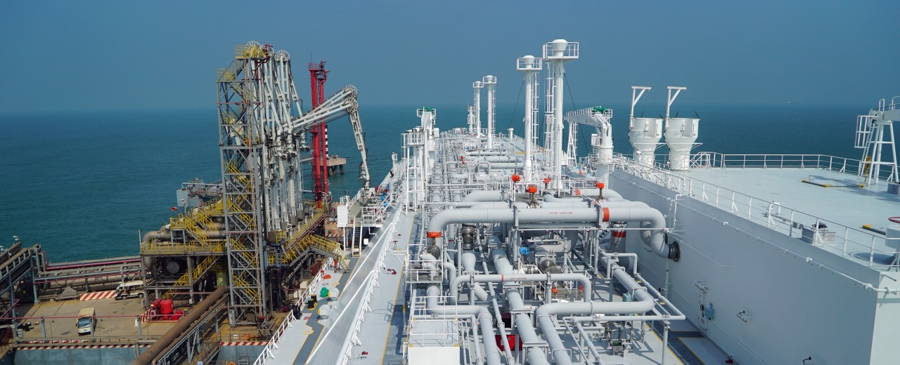 LNG Tanker-Terminal