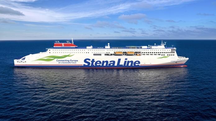 Schiff der StenaLine
