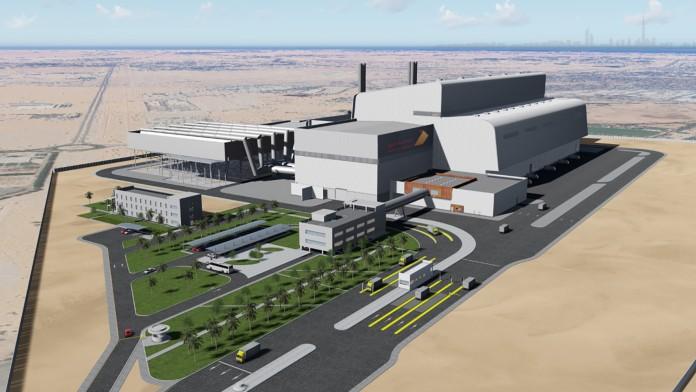 Müllverbrennungsanlage Warsan Waste to Energy in Dubai
